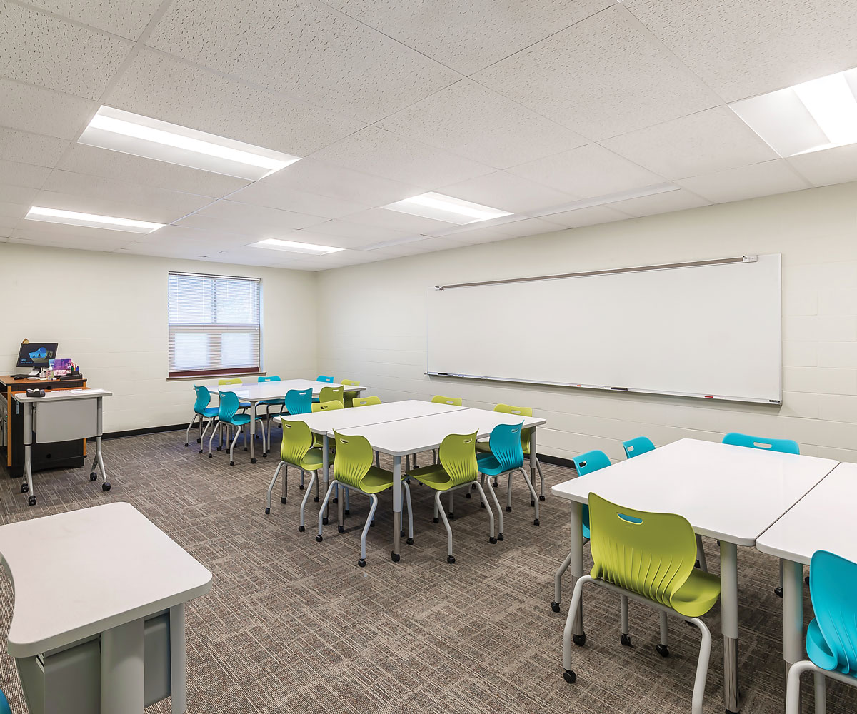 Rose Hill Middle School – Classroom