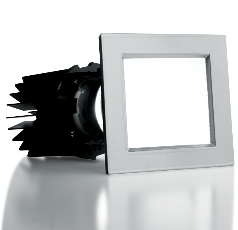 "2"" Adjustable Downlight – Square"