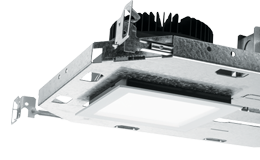 "4PS: 4.5"" Shallow Plenum Downlight – Square"