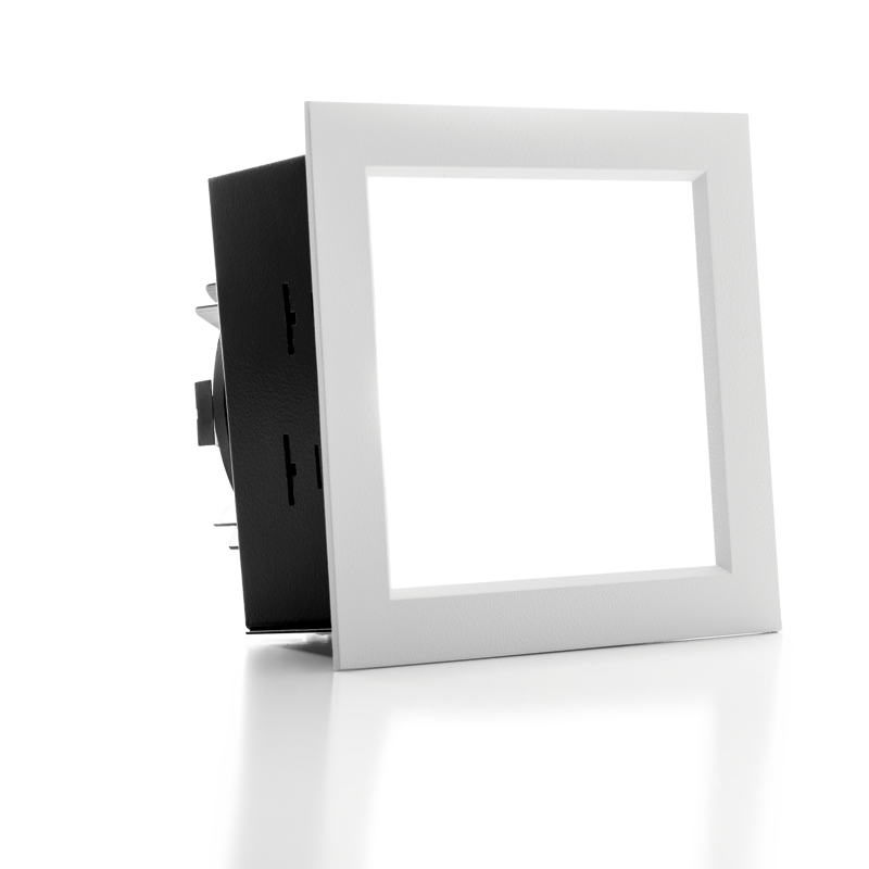 "4.5"" Shallow Plenum Downlight – Square"