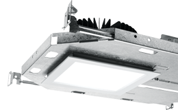"6PS: 6"" Shallow Plenum Downlight – Square"