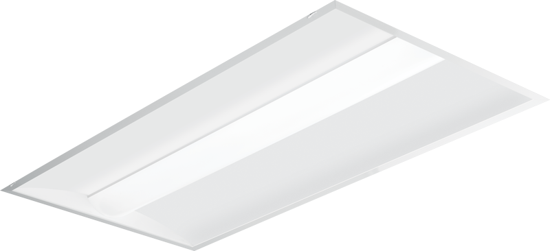AT2: Architectural LED Troffer - Curved Deep Center