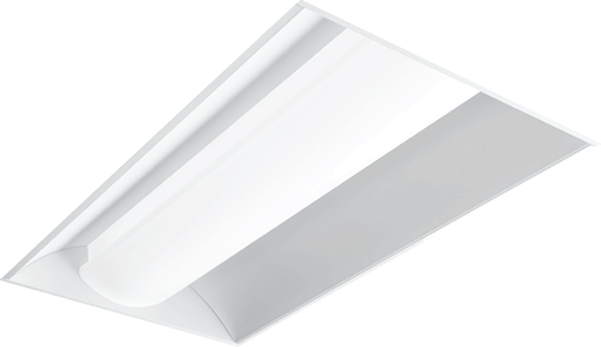 DI: Available in fluorescent or LED, the Direct/Indirect (DI series) offers a choice of 6 diffuser styles for a more architectural appearance.