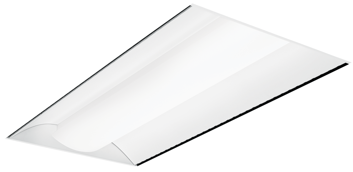 DI-AR: Available in fluorescent or LED, the Direct/Indirect (DI series) with air return offers a choice of 6 diffuser styles for a more architectural appearance.