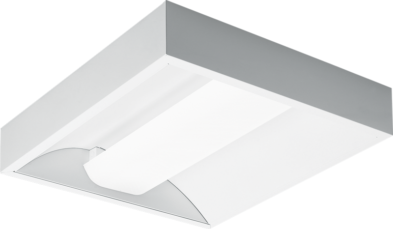 2x2 – White Perforated Flat Diffuser