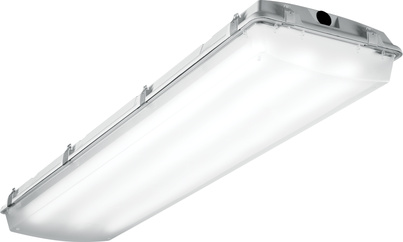 EGL: Featuring precisely formed lensing the EGL and EGL2 boast multiple certifications, including: NEMA 4X, IP66, IP67, and NSF/ANSI Standard 2 - Splash Zone certifications; as well as offering T5 & T8 (EGL) or LED (EGL2) illumination.