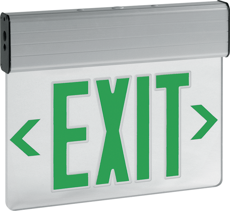 EXIT/EL: Edge-lit Exit Sign