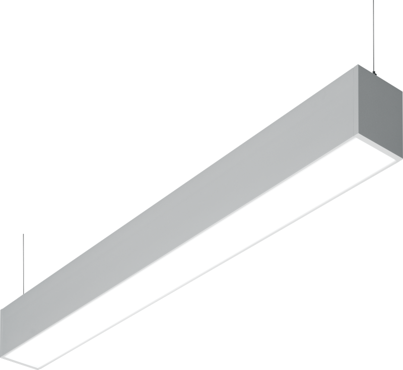 MX4UD: MX4UD provices continuous suspended light in both down and up directions for a seamless and uniform illumination for visual comfort