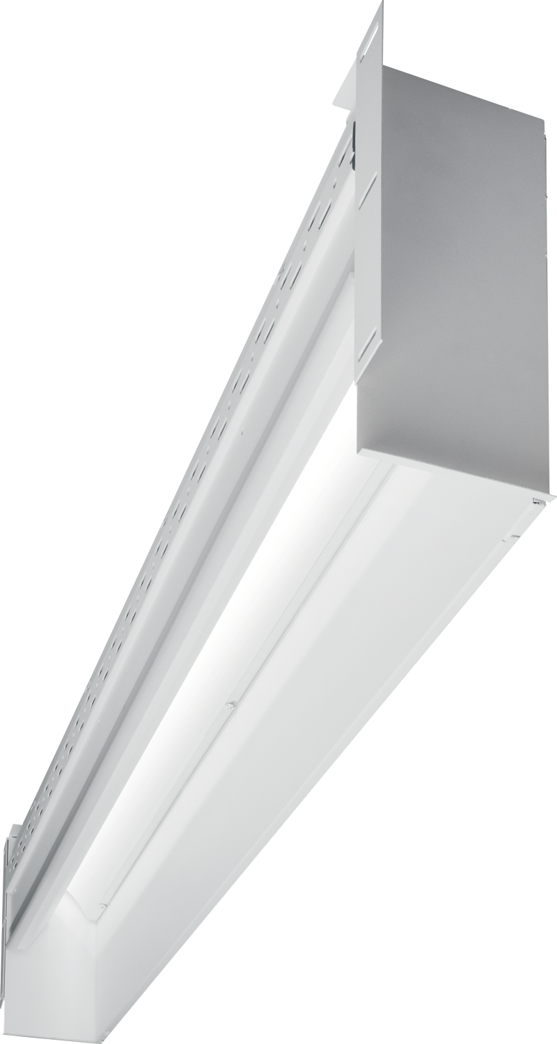PX GRAZE: Quick and easy installations with 90° run connections in both inside and outside corners, the sleek and linear PX GRAZE design offers a continuous row of light.