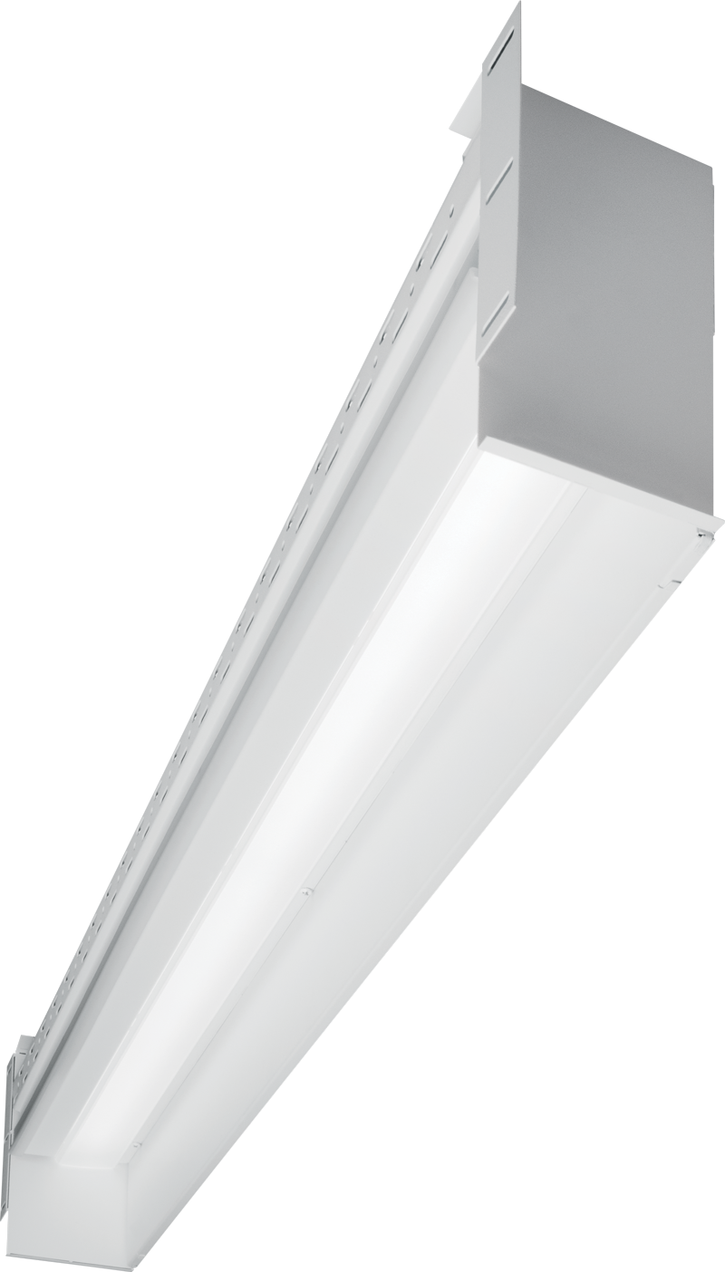 PX WASH: Soft wall wash illumination provides glare-free lighting from the perimeter of the space with this continuous light product. Field-adjustable extensions provide the perfect fit every time.