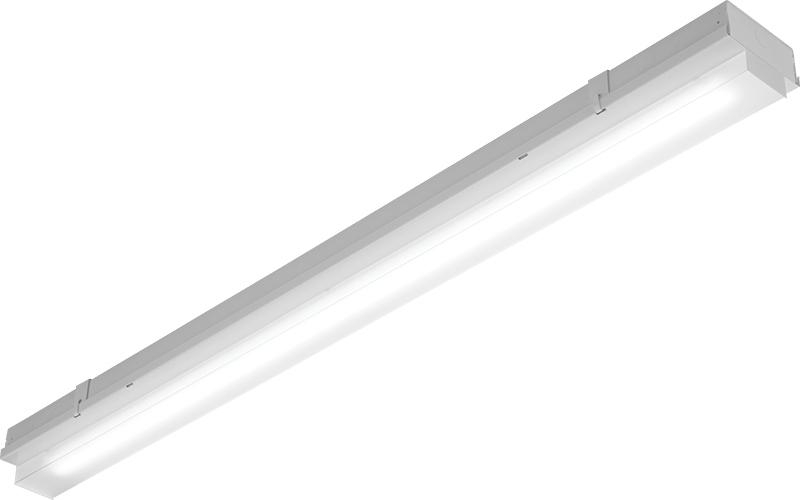 SRKS: Upgrade existing fluorescent fixtures to this easy to install LED fixture with a square acrylic lens for a toolless replacement and energy savings.