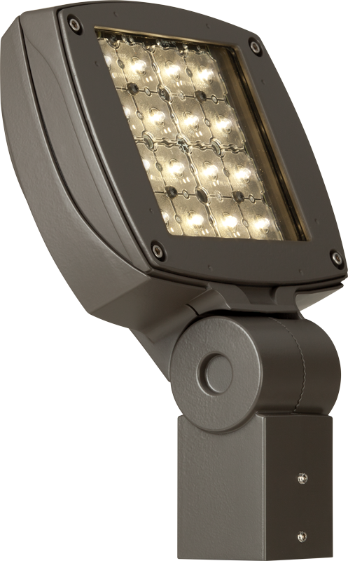 VF1:  Low-profile, contoured design available in 2,000 – 8,800 lumens. Sealed, die-cast housing is rugged and durable.