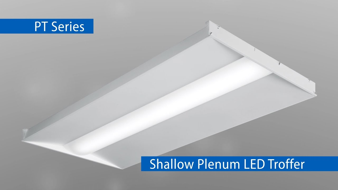 The PT Series is the perfect LED solution for shallow plenum applications.